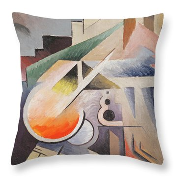 Composition Throw Pillow by Viking Eggeling