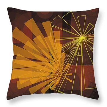 Composition16 Throw Pillow