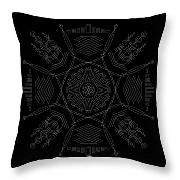 Compression Inverse Throw Pillow
