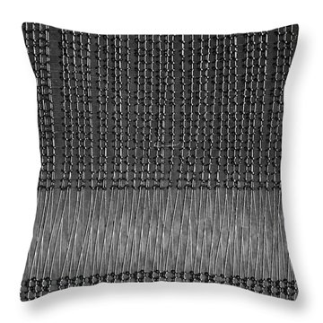Throw Pillow featuring the photograph Computer Memory by Rona Black