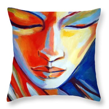 Concealed Desires Throw Pillow