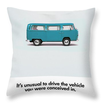 Conceived Throw Pillow by Mark Rogan