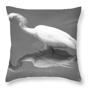 Concentration Throw Pillow by Carol Groenen