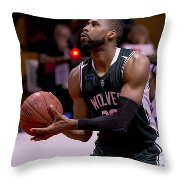 Throw Pillow featuring the photograph Concentration by Serene Maisey