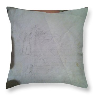 Conceptualizing - 1 Throw Pillow