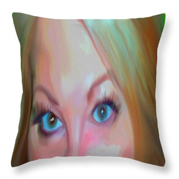 Concern Throw Pillow