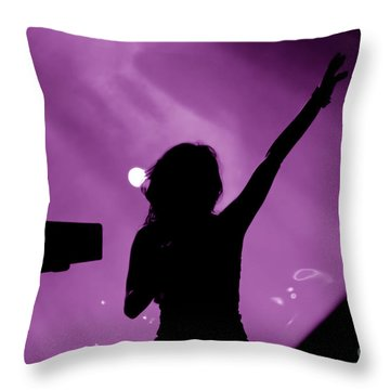 Concert Throw Pillow by Michal Bednarek