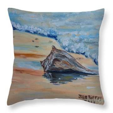 Conched Out Throw Pillow