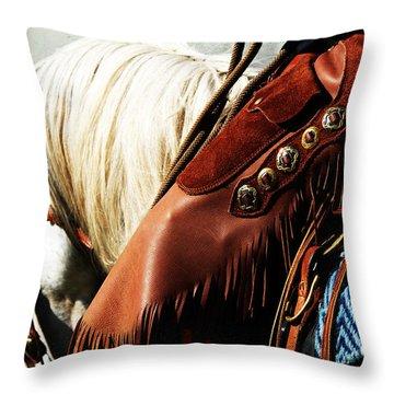 Conchos Throw Pillow by Karen Slagle