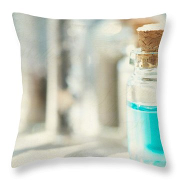 Concoction Throw Pillow by Lisa Knechtel