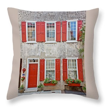 Throw Pillow featuring the photograph Concrete Beauty by Jean Haynes