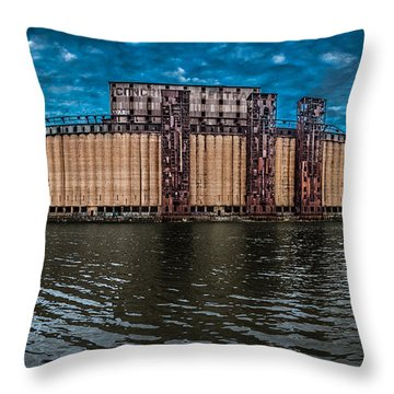 Concrete Central N1 Throw Pillow