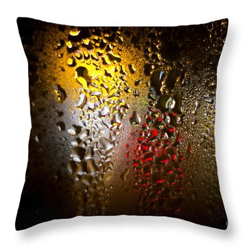 Condensation 74 - Fifa World Cup Trophy Abstract Throw Pillow