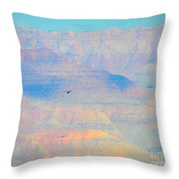 Condor Series A Throw Pillow