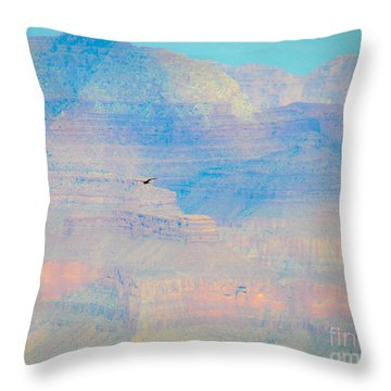 Condor Series C Throw Pillow by Cheryl McClure