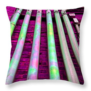 Conduit Throw Pillow