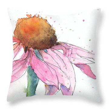 Coneflower 2 Throw Pillow