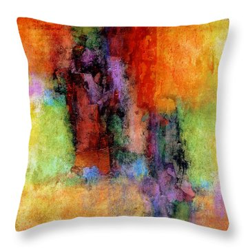Confection Throw Pillow by Jim Whalen