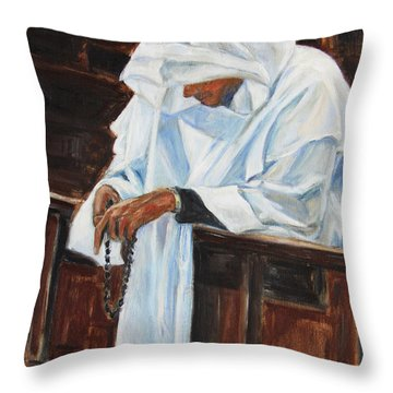 Confess... Throw Pillow by Xueling Zou