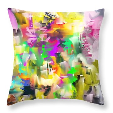 Conflagration Throw Pillow