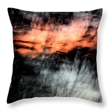 Confusion Throw Pillow by Jessica Shelton
