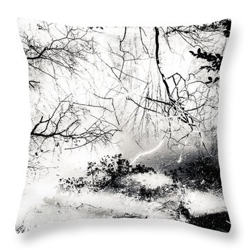 Confusion Of The Senses Throw Pillow