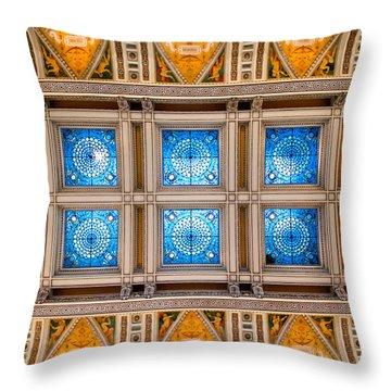 Congress Art Throw Pillow by Greg Fortier