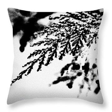 Conifer Throw Pillow