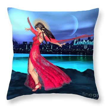 Conjunction Throw Pillow