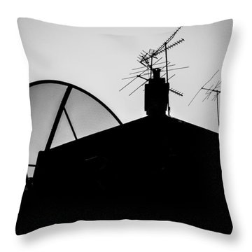 Connected Throw Pillow by Kaleidoscopik Photography