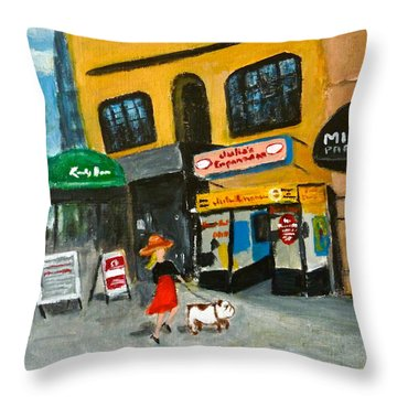 Connecticut Avenue Dc Throw Pillow