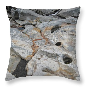 Connecticut River Bed Throw Pillow