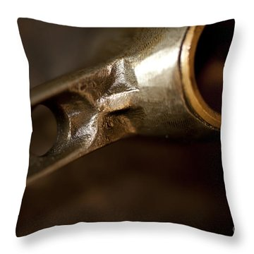 Connecting Rods Indian Scout Racer Throw Pillow by Wilma  Birdwell