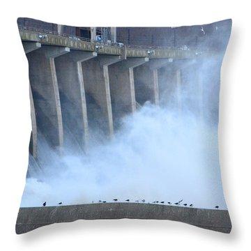 Conowingo Dam  Throw Pillow