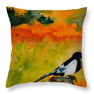 Consider Throw Pillow by Beverley Harper Tinsley
