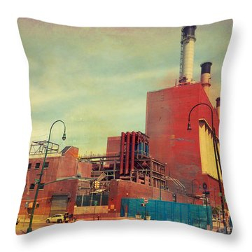 Consolidated Edison Company Of New York Throw Pillow