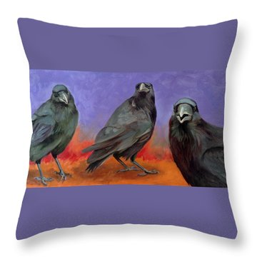 Conspiracy Throw Pillow