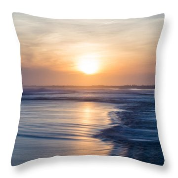 Constant Motion Throw Pillow