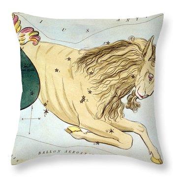 Constellation: Capricorn Throw Pillow by Granger