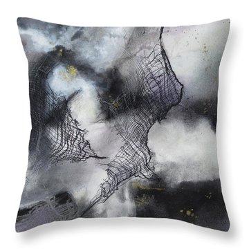 Constellation Throw Pillow by Deborah Ronglien