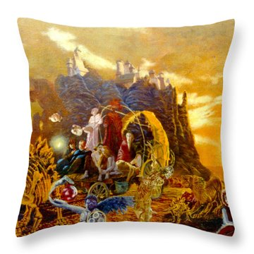 Constructors Of Time Throw Pillow