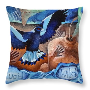 Container Of The Winds Throw Pillow