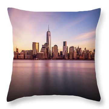 Containment Throw Pillow