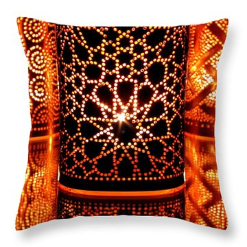 Contemplation Throw Pillow by Andreas Thust