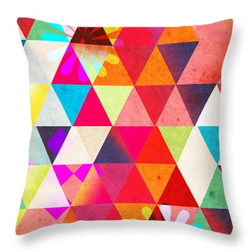 Contemporary 2 Throw Pillow by Mark Ashkenazi