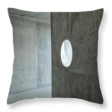 Contemporary Architecture Detail Throw Pillow