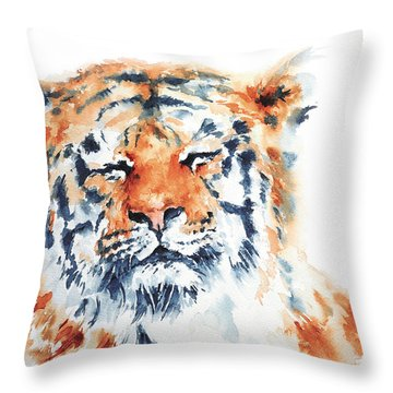 Contentment Throw Pillow by Stephie Butler