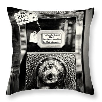 Continental French Roast Throw Pillow by Tanya Harrison