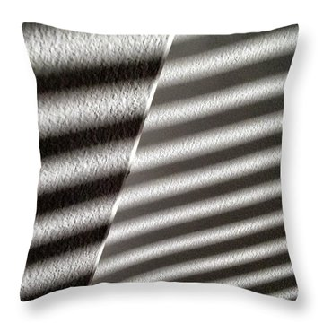 Throw Pillow featuring the photograph Continuum Z by Steven Huszar