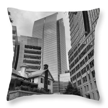 Contrasting Southern Architecture Throw Pillow